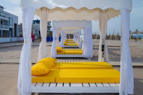 husa baldachin plaja